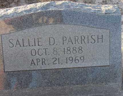 DICKEY PARRISH, SALLIE - Manatee County, Florida | SALLIE DICKEY PARRISH - Florida Gravestone Photos