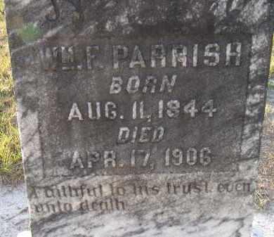 PARRISH, WILLIAM F. - Manatee County, Florida | WILLIAM F. PARRISH - Florida Gravestone Photos