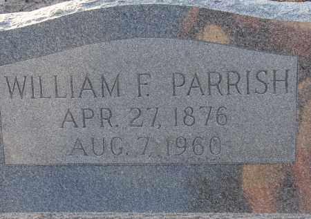 PARRISH, WILLIAM FRANK - Manatee County, Florida | WILLIAM FRANK PARRISH - Florida Gravestone Photos