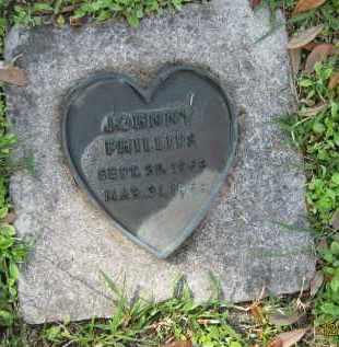 PHILLIPS, JOHNNY - Manatee County, Florida   JOHNNY PHILLIPS - Florida Gravestone Photos
