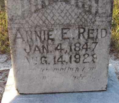 LOWRY REID, ANNIE E - Manatee County, Florida | ANNIE E LOWRY REID - Florida Gravestone Photos