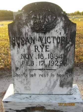 RYE, SUSAN VICTORIA - Manatee County, Florida | SUSAN VICTORIA RYE - Florida Gravestone Photos