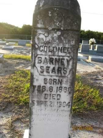 SEARS, BARNEY - Manatee County, Florida | BARNEY SEARS - Florida Gravestone Photos