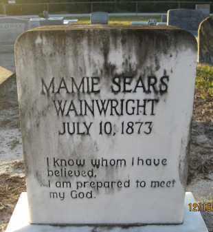 SEARS, MAMIE - Manatee County, Florida | MAMIE SEARS - Florida Gravestone Photos