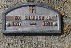 SHANNON, SR, ED - Manatee County, Florida   ED SHANNON, SR - Florida Gravestone Photos