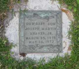 SHAVER, JR, JOSEPH MARTIN - Manatee County, Florida   JOSEPH MARTIN SHAVER, JR - Florida Gravestone Photos