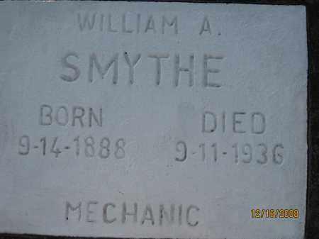 SMYTHE, WILLIAM A - Manatee County, Florida | WILLIAM A SMYTHE - Florida Gravestone Photos