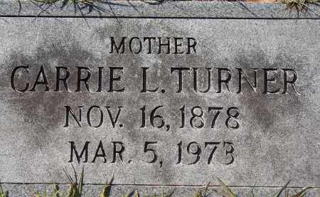 TURNER, CARRIE L. - Manatee County, Florida | CARRIE L. TURNER - Florida Gravestone Photos