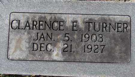 TURNER, CLARENCE E. - Manatee County, Florida   CLARENCE E. TURNER - Florida Gravestone Photos