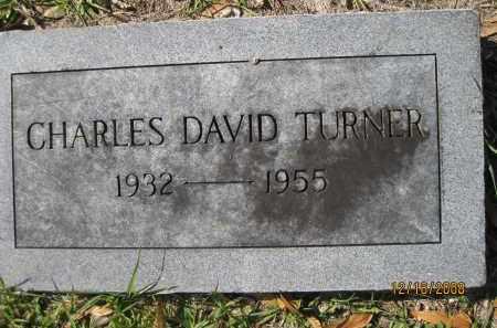 TURNER, CHARLES DAVID - Manatee County, Florida | CHARLES DAVID TURNER - Florida Gravestone Photos
