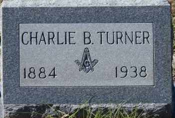TURNER, CHARLIE B - Manatee County, Florida | CHARLIE B TURNER - Florida Gravestone Photos