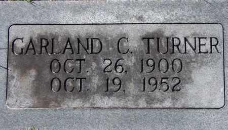 TURNER, GARLAND C. - Manatee County, Florida   GARLAND C. TURNER - Florida Gravestone Photos