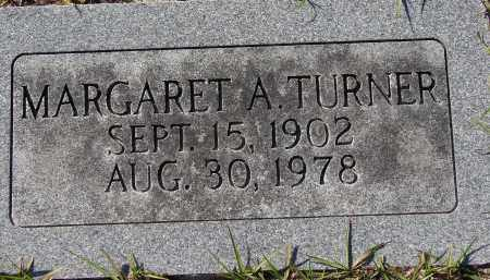 TURNER, MARGARET A. - Manatee County, Florida | MARGARET A. TURNER - Florida Gravestone Photos