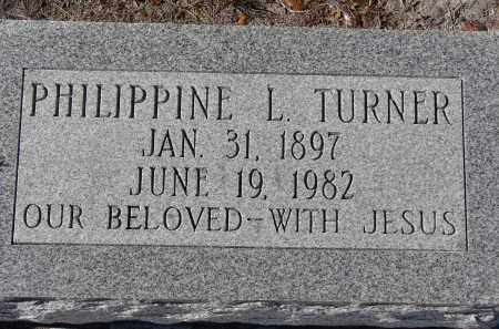 TURNER, PHILIPPINE L. - Manatee County, Florida   PHILIPPINE L. TURNER - Florida Gravestone Photos