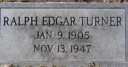 TURNER, RALPH EDGAR - Manatee County, Florida   RALPH EDGAR TURNER - Florida Gravestone Photos