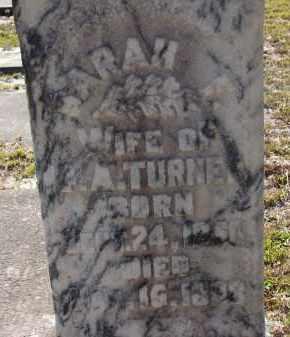 TURNER, SARAH F. - Manatee County, Florida | SARAH F. TURNER - Florida Gravestone Photos