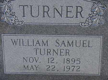 TURNER, WILLIAM SAMUEL - Manatee County, Florida | WILLIAM SAMUEL TURNER - Florida Gravestone Photos