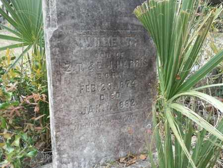 HARRIS, WILLIE T - Marion County, Florida   WILLIE T HARRIS - Florida Gravestone Photos
