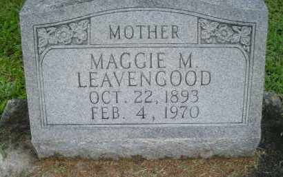 LEAVENGOOD, MAGGIE M - Marion County, Florida | MAGGIE M LEAVENGOOD - Florida Gravestone Photos