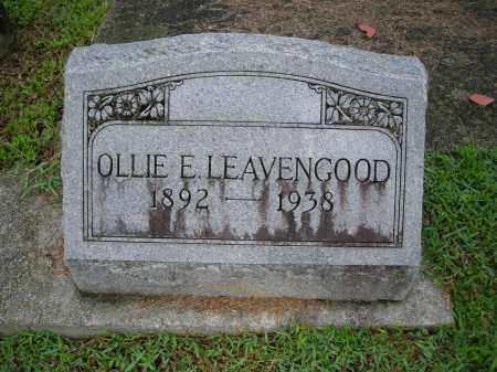 LEAVENGOOD, OLLIE E - Marion County, Florida | OLLIE E LEAVENGOOD - Florida Gravestone Photos
