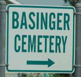 *BASINGER CEMETERY, SIGN - Okeechobee County, Florida | SIGN *BASINGER CEMETERY - Florida Gravestone Photos