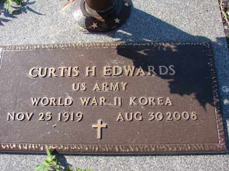 EDWARDS (VETERAN WWII KOR), CURTIS H. - Palm Beach County, Florida   CURTIS H. EDWARDS (VETERAN WWII KOR) - Florida Gravestone Photos