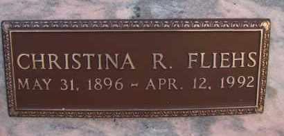 BERNA FLIEHS, CHRISTINA R - Palm Beach County, Florida | CHRISTINA R BERNA FLIEHS - Florida Gravestone Photos