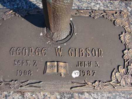 GIBSON, GEORGE W. - Palm Beach County, Florida   GEORGE W. GIBSON - Florida Gravestone Photos