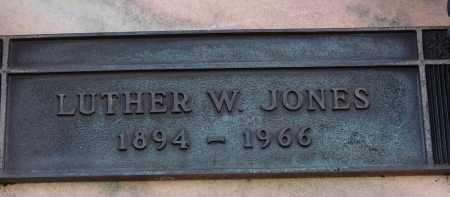 JONES, LUTHER W. - Palm Beach County, Florida   LUTHER W. JONES - Florida Gravestone Photos