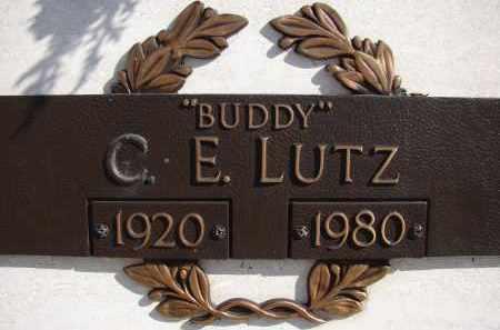 """LUTZ, C. E. """"BUDDY"""" - Palm Beach County, Florida   C. E. """"BUDDY"""" LUTZ - Florida Gravestone Photos"""