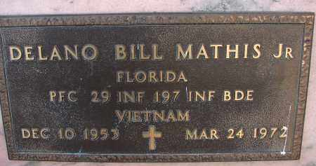 MATHIS, JR (VETERAN VIET), DELANO BILL - Palm Beach County, Florida | DELANO BILL MATHIS, JR (VETERAN VIET) - Florida Gravestone Photos