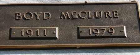 MCCLURE, BOYD - Palm Beach County, Florida | BOYD MCCLURE - Florida Gravestone Photos