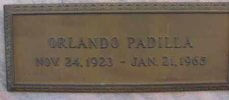 PADILLA, ORLANDO - Palm Beach County, Florida | ORLANDO PADILLA - Florida Gravestone Photos