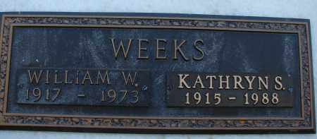 WEEKS, KATHRYN S. - Palm Beach County, Florida   KATHRYN S. WEEKS - Florida Gravestone Photos