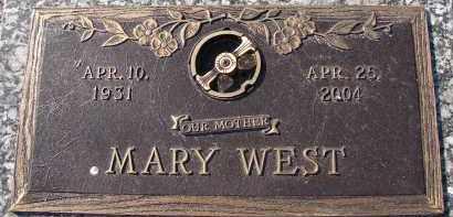 WEST, MARY - Palm Beach County, Florida   MARY WEST - Florida Gravestone Photos