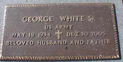 WHITE, SR (VETERAN), GEORGE - Palm Beach County, Florida | GEORGE WHITE, SR (VETERAN) - Florida Gravestone Photos