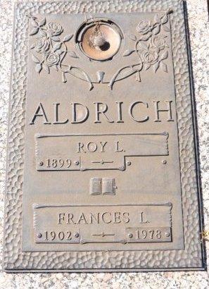 ALDRICH, FRANCES L. - Pasco County, Florida | FRANCES L. ALDRICH - Florida Gravestone Photos