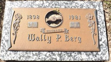 BERG, WALLY P. - Pasco County, Florida | WALLY P. BERG - Florida Gravestone Photos