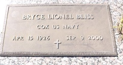 BLISS (VETERAN), BRYCE LIONEL (NEW) - Pasco County, Florida | BRYCE LIONEL (NEW) BLISS (VETERAN) - Florida Gravestone Photos