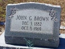 BROWN, JOHN G.  - Pasco County, Florida | JOHN G.  BROWN - Florida Gravestone Photos