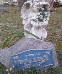BURNSIDE, VIRGINIA  - Pasco County, Florida | VIRGINIA  BURNSIDE - Florida Gravestone Photos