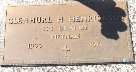 HENRICKSEN (VETERAN VIET), GLENHURL H. (NEW) - Pasco County, Florida   GLENHURL H. (NEW) HENRICKSEN (VETERAN VIET) - Florida Gravestone Photos