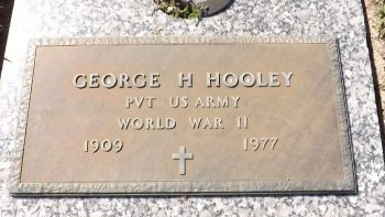 HOOLEY (VETERAN WWII), GEORGE H. (NEW) - Pasco County, Florida | GEORGE H. (NEW) HOOLEY (VETERAN WWII) - Florida Gravestone Photos