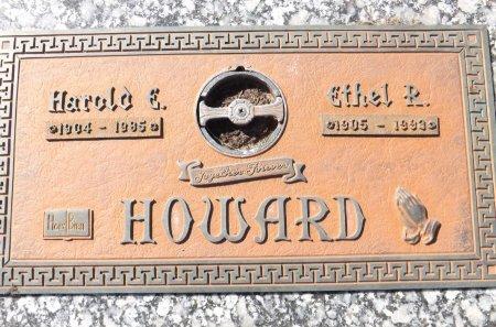 HOWARD, HAROLD E.  - Pasco County, Florida | HAROLD E.  HOWARD - Florida Gravestone Photos