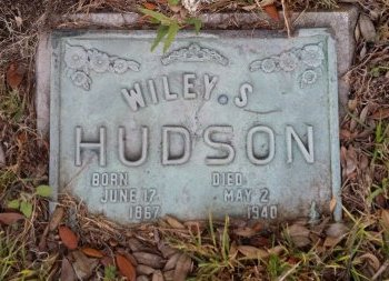 HUDSON, WILEY S. - Pasco County, Florida | WILEY S. HUDSON - Florida Gravestone Photos