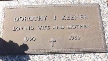 KEENER, DOROTHY J. - Pasco County, Florida | DOROTHY J. KEENER - Florida Gravestone Photos