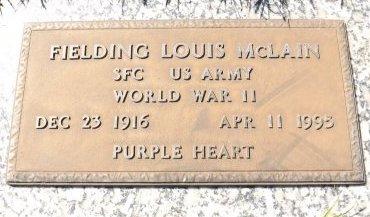 MCLAIN (VETERAN WWII), FIELDING LOUIS (NEW) - Pasco County, Florida | FIELDING LOUIS (NEW) MCLAIN (VETERAN WWII) - Florida Gravestone Photos
