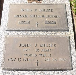 MILSKE (VETERAN WWII), JOHN J. (NEW) - Pasco County, Florida | JOHN J. (NEW) MILSKE (VETERAN WWII) - Florida Gravestone Photos