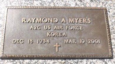 MYERS (VETERAN KOR), RAYMOND A. (NEW) - Pasco County, Florida   RAYMOND A. (NEW) MYERS (VETERAN KOR) - Florida Gravestone Photos