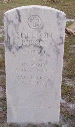 PIPKIN (VETERAN WWII), SHELTON (NEW) - Pasco County, Florida | SHELTON (NEW) PIPKIN (VETERAN WWII) - Florida Gravestone Photos